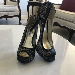steve madden lace heels